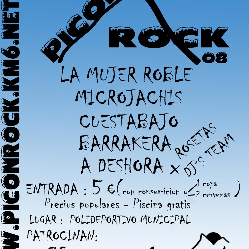 Cartel Piconrock 2008