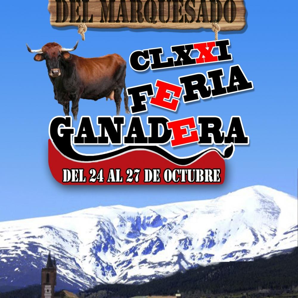 Cartel Feria Ganadera 2013