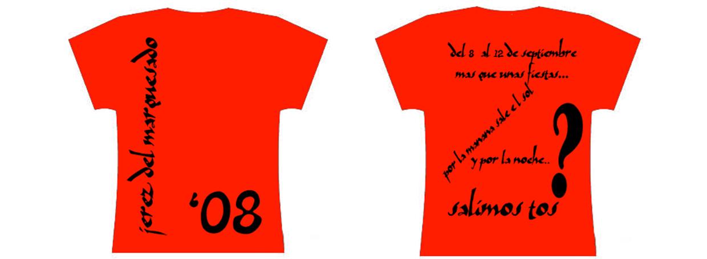 Camisetas Fiestas 2008