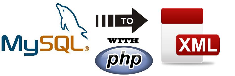Pasar una base de datos MYSQL a XML con PHP