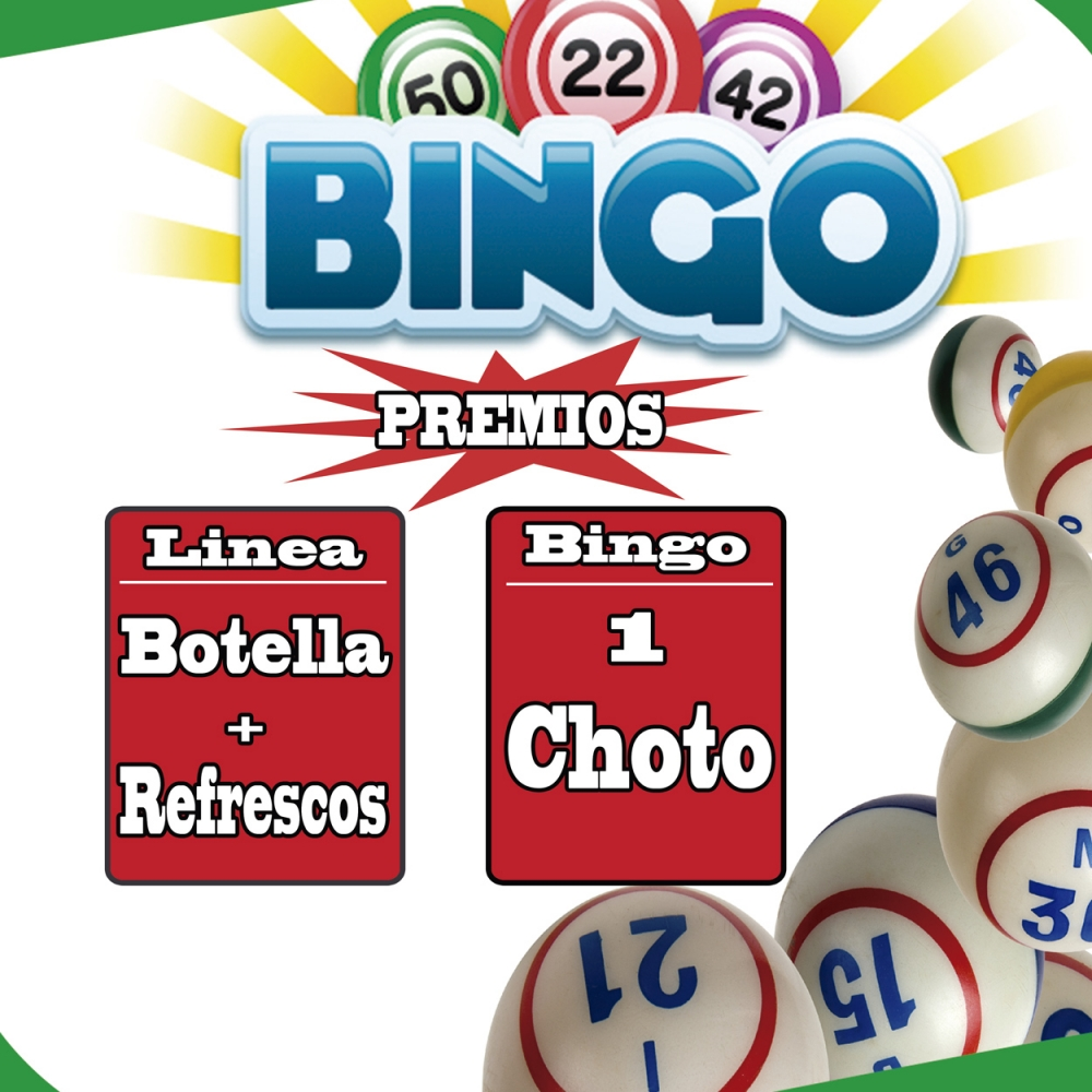 Bingo en «La Pista»