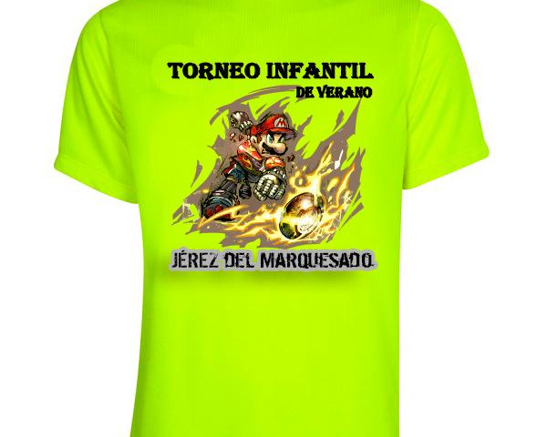 Camiseta torneo de verano infantil
